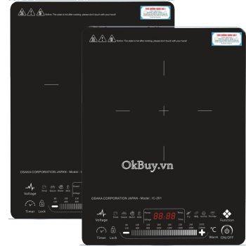Bếp điện từ đơn Osaka IC-201-2000W